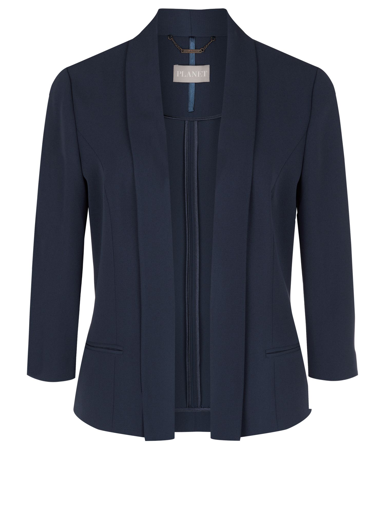 New navy short jacket
