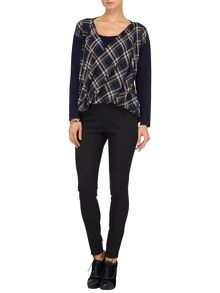 Tori twist check jumper