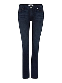 Skyline straight leg jeans in mid lake