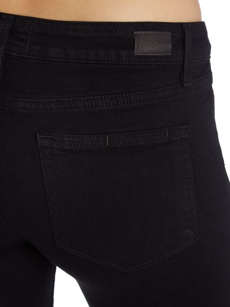 Paige Skyline bootcut jeans in black shadow