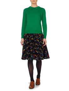 Molly pleat skirt