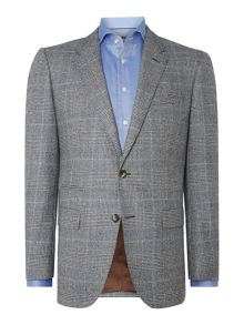 Butch regular fit Prince of Wales Check suit
