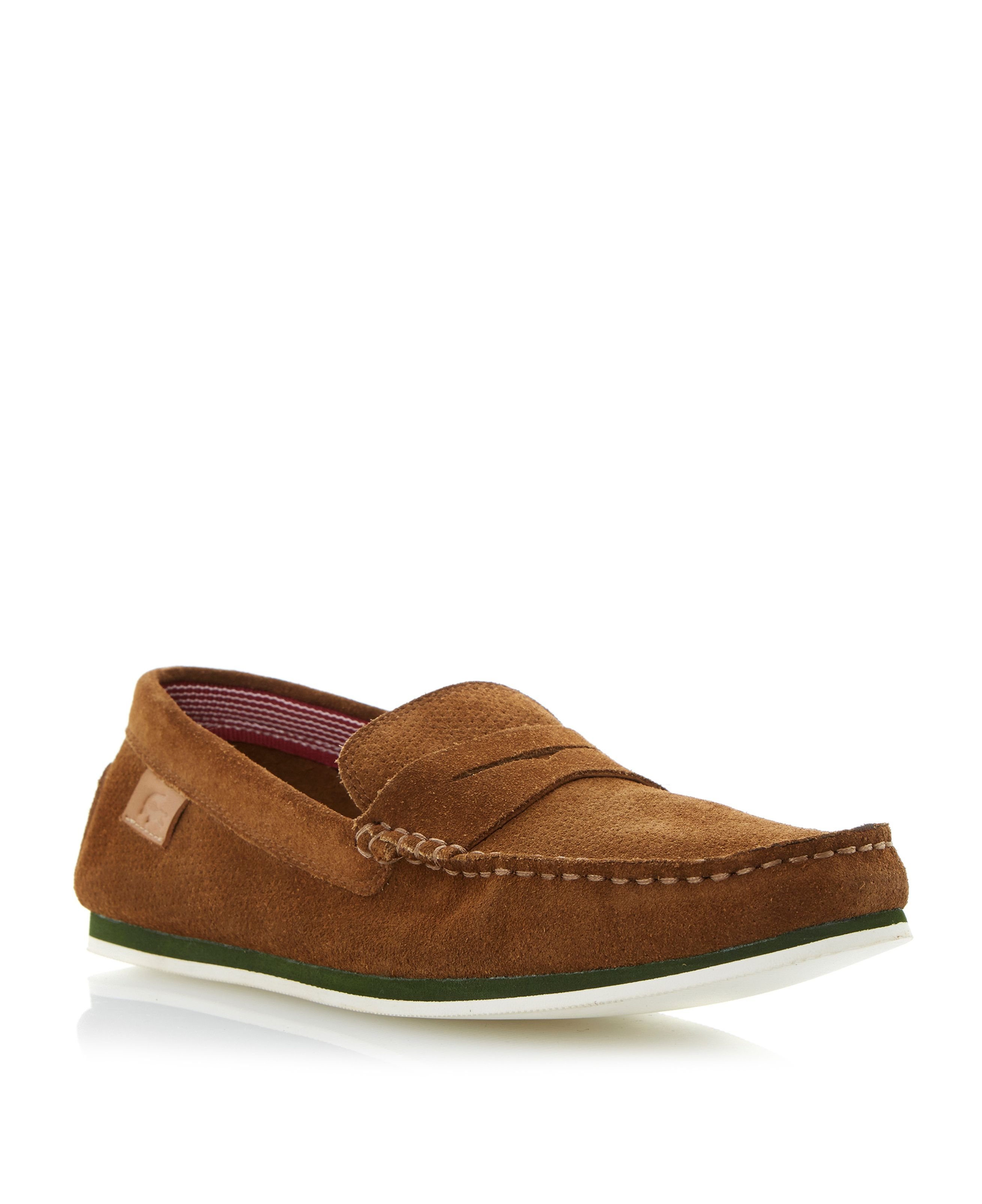 Chanler perforated apron loafers