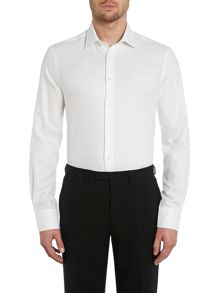 Johnny regular fit textured oxford shirt