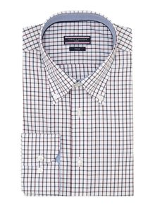 Henry Regular Fit Small Check Shirt