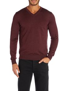Clayton v-neck jumper