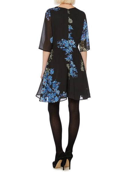 Therapy Placement floral print dress