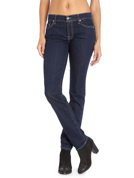 7 For All Mankind Roxanne slim jeans in las vegas deep