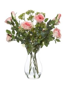 Shabby Chic Pale pink english garden roses