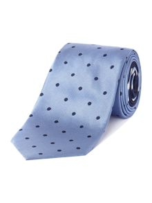 Spaced out spot tie