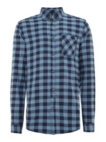 Long sleeved mountain shirt