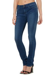 Calvin Klein Mid rise slim jeans in satin mid stretch