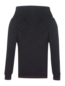 Boy`s hooded zip thru