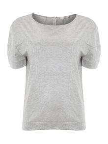 Calvin Klein Toke short sleeve coated top