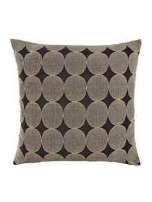 Mono Mark jacquard spot cushion
