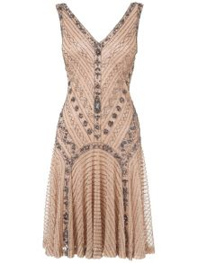 Gatsby beaded dress