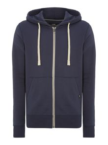 Jack & Jones Zip Thru Hooded Sweatshirt