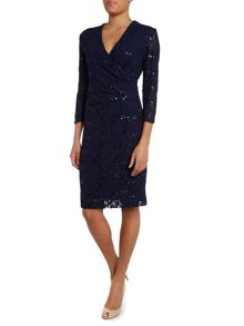 Bella long sleeve sequin dress