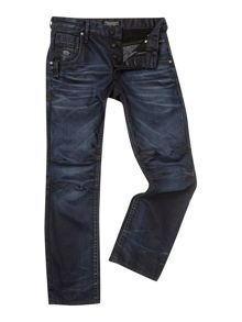 Regular Fit Boxy Powell Jeans