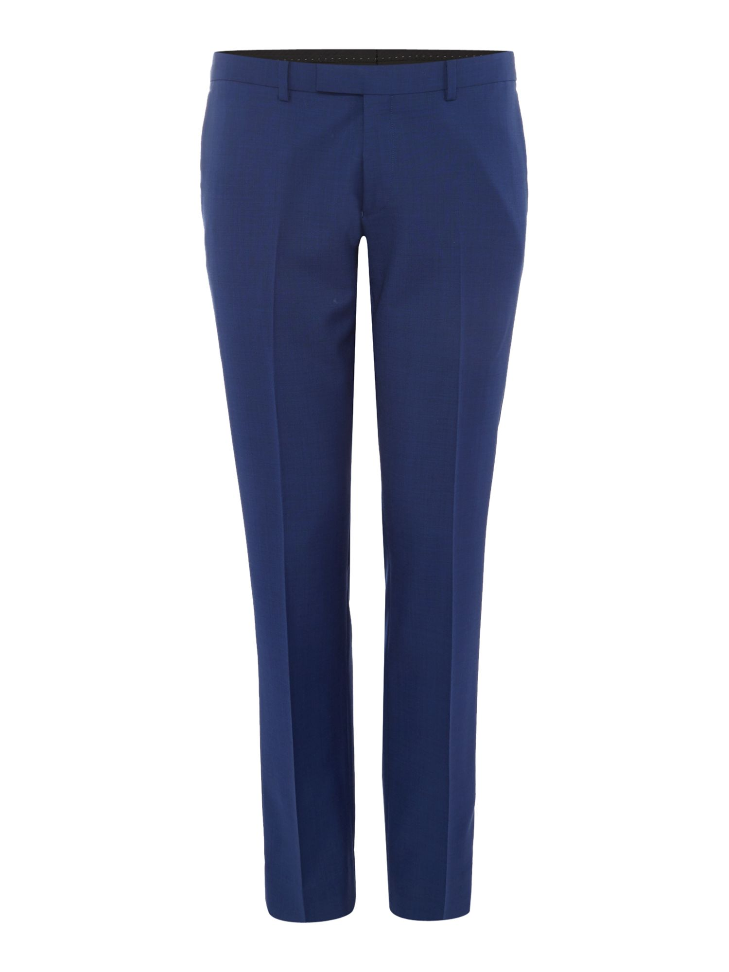 Mens Kenneth Cole Lance flat front suit trousers Electric Blue