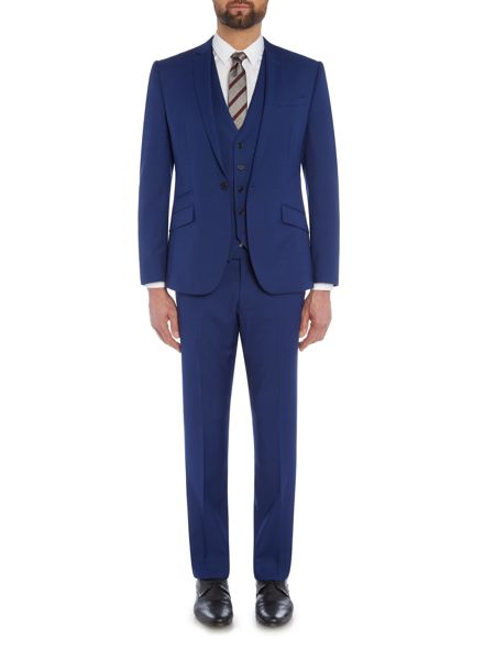 Kenneth Cole Lance flat front suit trousers