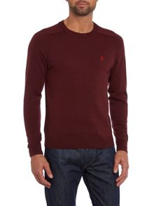 Crew neck esquire merino jumper