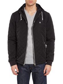 Original Penguin Quilted hooded ratner jacket