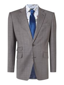 New & Lingwood Findlay textured peak lapel suit jacket