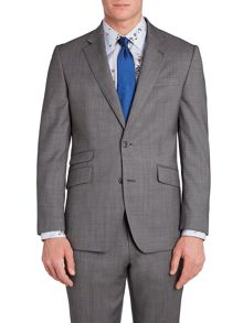 Findlay textured peak lapel suit jacket