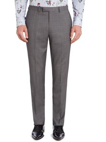 Findlay textured flat front trousers