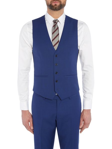 Kenneth Cole Lance slim fit waistcoat