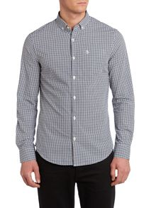 Original Penguin Long Sleeve Belan Gingham Shirt