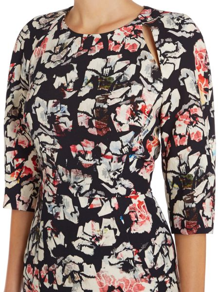 Tara Jarmon Long sleeved printed dress