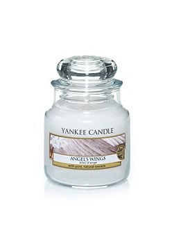 Angel wings small jar