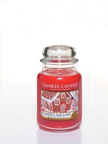 Yankee Candle Classic large jar candy cane lane