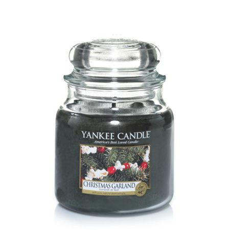Yankee Candle Classic medium jar christmas garland