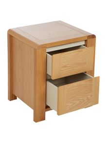 Houston 2 drawer bedside