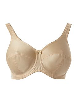 Cotton smooth cup bra