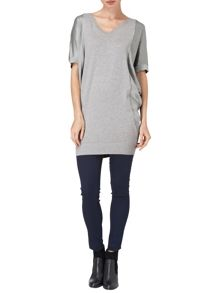 Skyla silk tunic
