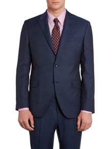 Zefiro shadow stripe suit jacket