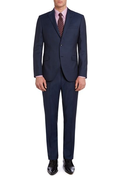 Corsivo Zefiro shadow stripe suit jacket