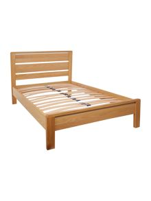 Houston double slatted bedstead
