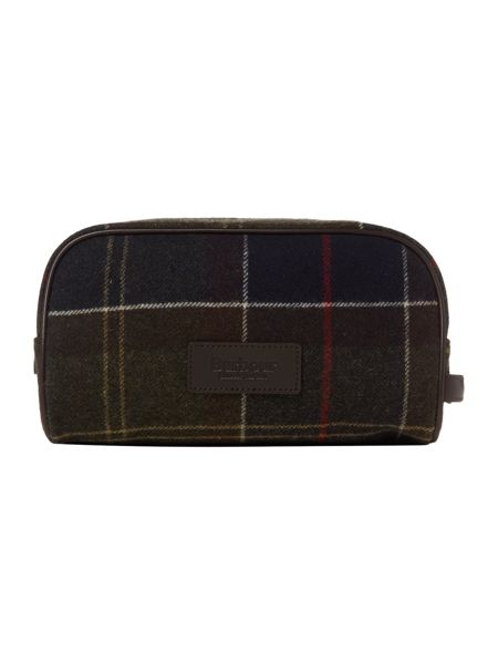 Barbour Tartan washbag