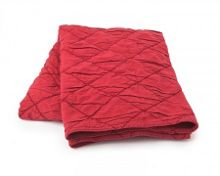 Chenille Bedspread 160x240 in Red