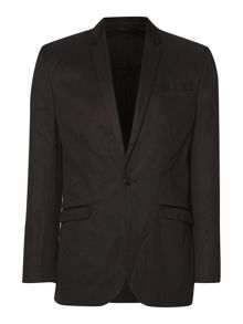 Razor smart cotton linen blazer