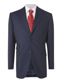 Howick Tailored Branson Fine Stripe Suit Jacket