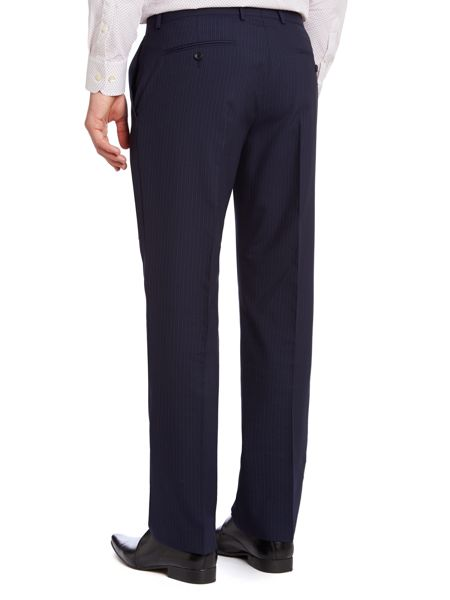 Howick Tailored Branson Fine Stripe Suit Trousers