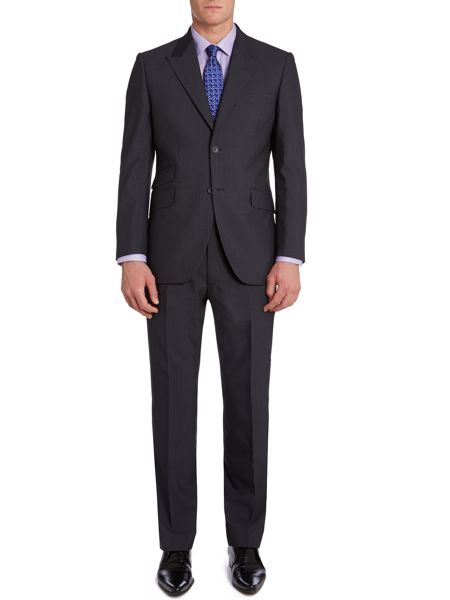 Howick Tailored Darlington Fine Stripe Suit Trousers