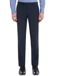 Hendrickson Grid Pattern Slim Fit Suit Trousers