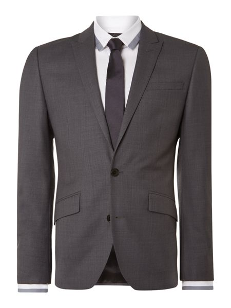 Kenneth Cole Lawton Tonal Slim Fit Suit Jacket